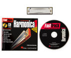 Fast Track Mini Harmonica 1 Pack Book/CD/Harmonica 1