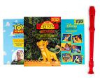 Disney Collection 3 Books & Recorder Pack 1