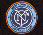 Mitchell & Ness New York City FC Team Colour Knit Beanie - Black 4