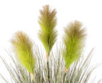 Artificial 62cm Potted Swamp Foxtail - Green 3