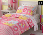 Freckles Candy Double Quilt Cover Set - Pink 1