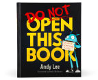 Do Not Open This Book Signed Copy by Andy Lee 1