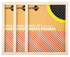 Cooper & Co. 20x25cm 3-Pack Trinity Frame - Natural 1