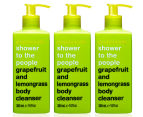 3 x Anatomicals Shower to the People Grapefruit & Lemongrass Body Cleanser 300mL 1
