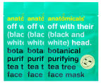 3 x Anatomicals Botanical Hydrating Face Mask Tea Tree 25g 1