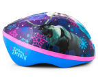 Frozen Kids' Helmet -Blue/Purple 2