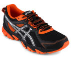 ASICS Men's GEL-Sonoma 2 Shoe - Black/Silver Flame/Orange 2