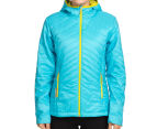 Icebreaker Women's Helix Long Sleeve Merino Hooded Jacket - Glacier 2
