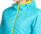 Icebreaker Women's Helix Long Sleeve Merino Hooded Jacket - Glacier 6