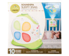 MyBaby Soundspa Sleepy Snail - White/Green 4