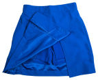 Stubbies Girls' Netball Skirt - Royal 4