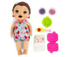 Baby Alive Snackin' Lily Doll - Brunette 2