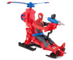 Ultimate Spiderman Titan Hero Series Figure w/ Web Copter 5