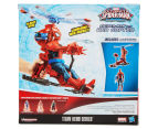 Ultimate Spiderman Titan Hero Series Figure w/ Web Copter 6