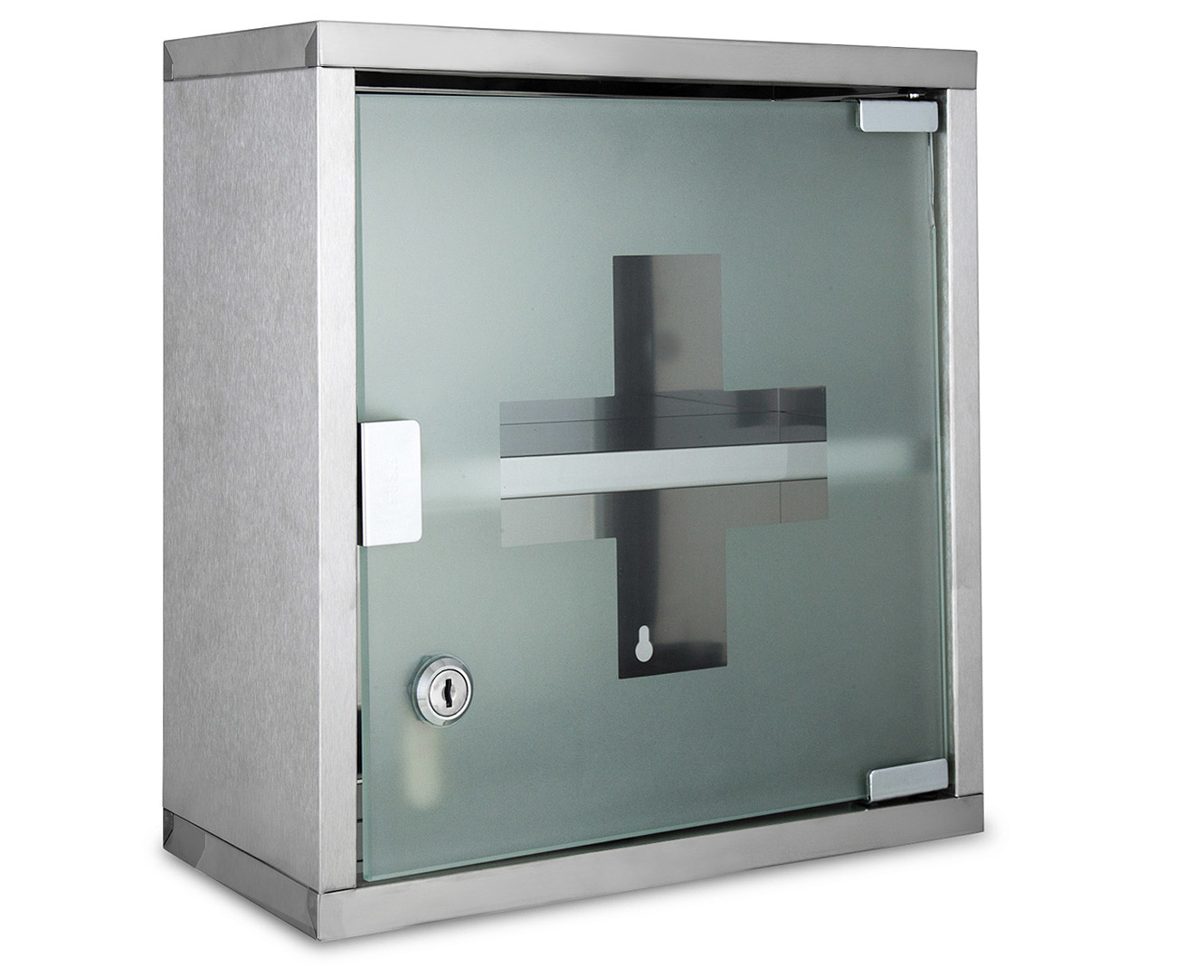 Mileno 30x30x12cm lockable wall mounted medicine cabinet Wall mounted medicine cabinet