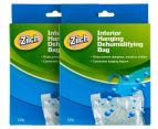2 x Zilch Interior Hanging Dehumidifying Bag 125g 1