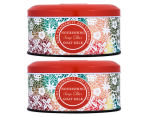 2 x Evodia Soap Tin Set 200g - Ruby Grapefruit & Tuberose 1