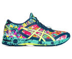 ASICS Women's GEL-Noosa Tri 11 Shoe - Poseidon/Safety Yellow/Cockatoo 1