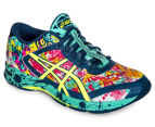 ASICS Women's GEL-Noosa Tri 11 Shoe - Poseidon/Safety Yellow/Cockatoo 2