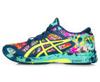 ASICS Women's GEL-Noosa Tri 11 Shoe - Poseidon/Safety Yellow/Cockatoo 3