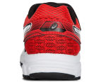 ASICS Pre-School Kids' Pre Contend 3 PS Shoe - Black/White/Vermilion 4