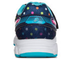 ASICS Pre-School Kids' Pre Contend 3 PS Shoe - Indigo Blue/Pink Glow/Aquarium 4
