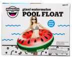 BigMouth Inc. Giant Pool Float Watermelon Slice - Red/Green 6