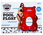 BigMouth Inc. Giant Red Gummy Bear Pool Float - Red 2