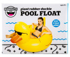 BigMouth Inc. Giant Rubber Duckie Pool Float - Yellow 5