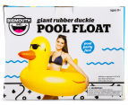 BigMouth Inc. Giant Rubber Duckie Pool Float - Yellow 6