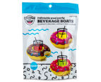 BigMouth Inc. Assorted Donut Drink Floats 3-Pack - Multi 6