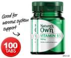 2 x Nature's Own Vitamin B5 250mg 50 Tabs 1