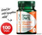 2 x Nature's Own Non-Acidic Vitamin C 50 Tabs 1