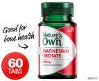 Nature's Own Magnesium Orotate 400mg 60 Tabs 1
