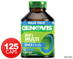 Cenovis Once Daily Men's Multi Value Pack 125 Caps 1