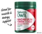 Nature's Own Magnesium Powder + CoQ10 250g 1