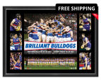 Western Bulldogs 700x500mm 2016 AFL Premiers Tribute Frame 1