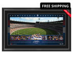 Western Bulldogs 1000x600mm 2016 AFL Premiers Signed Panoramic 1