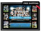 Cronulla Sharks 700x500mm 2016 NRL Premiers Tribute Frame 1