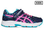 ASICS Pre-School Kids' Pre Contend 3 PS Shoe - Indigo Blue/Pink Glow/Aquarium 1
