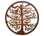Circular Tree of Life w/ Bird 50cm Metal Laser Cut Wall Art 6