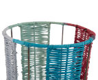 Set of 2 Nested Tall Limpopo Baskets - Multi 4