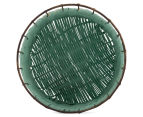 Set of 3 Nested Round Limpopo Baskets - Blue/Aqua/Yellow 6