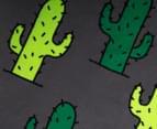 Round 150cm Beach Towel - Cactus 4