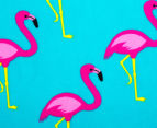 Round 150cm Beach Towel - Flamingo 4
