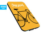 Smartoools MC5 5000mAh Mobile Charger - Bike Yellow 1