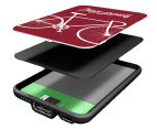 Smartoools MC5 5000mAh Mobile Charger - Bike Burgundy 2
