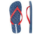 Ipanema Switch Strap Women's Thong - Blue/Red 1