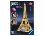 Ravensburger 216 Piece 3D Puzzle - Eiffel Tower Night Edition 1