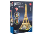 Ravensburger 216 Piece 3D Puzzle - Eiffel Tower Night Edition 2